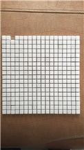 Yugoslavia White Marble Mosaic Wall Floor Tiles