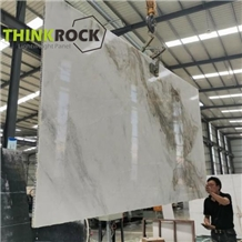 White Marble Slabs Laminated Honeycomb Panels