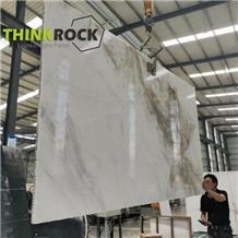 White Marble Slabs Laminated Honeycomb Panels