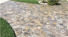 Da Vinci Travertine Walkway Pavers