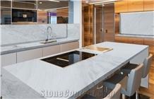 Milano White Marble Countertop
