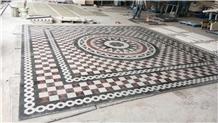 Hot Selling Marble Medallion Mosaic Tile