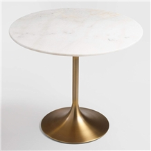 Hotel & Restaurant Artificial Marble Tulip Tables