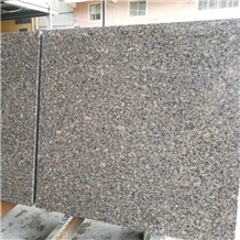 Polished Giallo Roma Granite Slabs