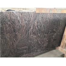 Polished Indian Kinawa Granite Slabs