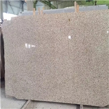 Polished New Giallo Fantasia Granite Slabs