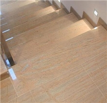 Polished Raja Pink Granite for Floor