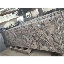 Polished Three Gorges Wave Granit Slabs