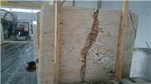 Traonyx Ivory Bianco Travertine Slab