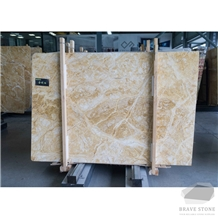 Amber Gold Marble Slabs and Tiles