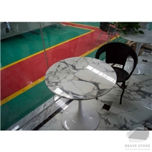 Arabescato Marble Table Top