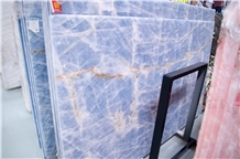 Cheap China Blue Onyx Slabs and Tiles