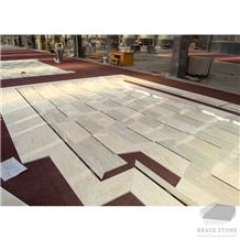 Eurasian Wood Grain Marble Tiles and Slabs