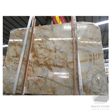 Golden Jade Marble Slabs and Tiles