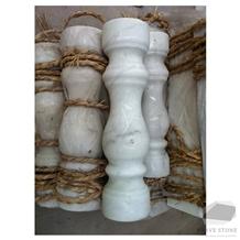 Kwong Sal White Marble Railing Balustrades
