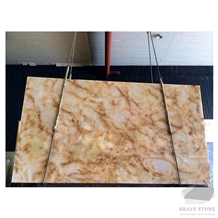 New Amber Onyx Slabs and Tiles
