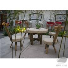 Trippy Limestone Table Top