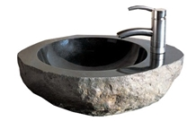 River Stone Basin,Sink, Wash Basins, Vessel Sinks