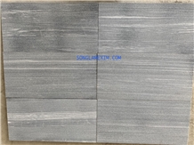 Grey Stripe Marble Sandblasted Pool Coping