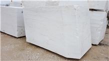 Oceanic White Marble Block, Greece White Marble