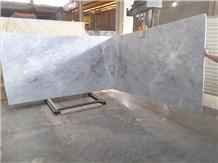 Ice Blue White Marble Slabs