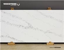 Quartz Countertop Vicostone Bq8628 Statuario