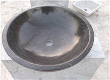 Blue Limestone Basin Sink,Bowl Washing Facility