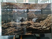 Black Fusion Granite Slab