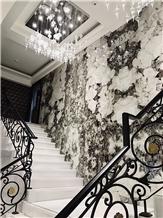 Feldspar White Stone Wall Decorative Slab and Tiles