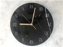 Marble Stone Art Design Watch Clock