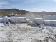 Karaman Cascatta Grey Marble Blocks