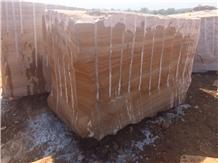 Fantasy Gold Quartzite Blocks