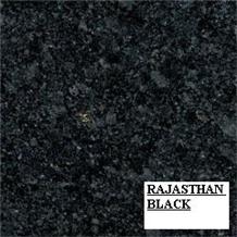 R Black Granite Slabs & Tiles