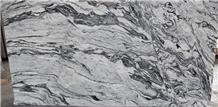Viscont White Wavy Granite Slabs
