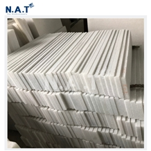 Vietnam Pure White Marble Skirting