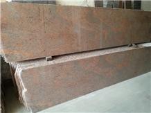 Multicolor Red Granite Slab, Floor Tile