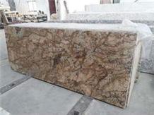Alaska Gold, Alaska Red Granite Slabs