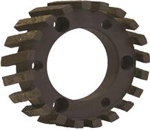 Cnc Diamut Standard Segment Stubbing Wheels for Granite and Engineered Stone