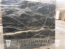 Turkish Marble Cut Size Slab Export Black Eagle