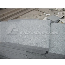 China Flint Green Granite Flamed Pavers