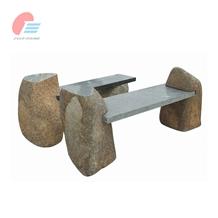 Natural Stone Bench Set for Garden