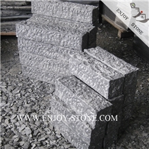 Pineapple Black Basalt Column,Garden Curb Stone