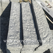Pineapple G654 Dark Gray Granite Garden Stone
