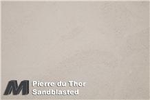 Pierre Du Thor Sandblasted Tiles & Slabs