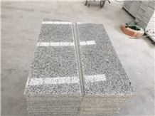G602 Light Grey Granite for Stairs Project
