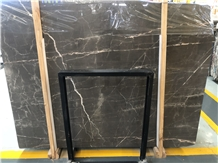 China St Laurent Brown Marble Slabs Tiles for Home