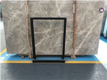 Dora Cloud Grey Marble Tundla Slabs for Flooring