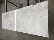 Van Gogh White Marble Stone Top Hotel Desk Design