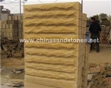 Mushroom Stone-07 Yellow Sandstone
