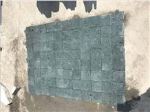 China Green Sukabumi Cutting Matte Pool Stone